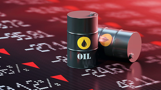 Oil prices jump more than $ 2 after falling US stocks
